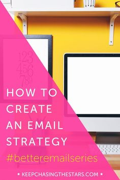 How to create an email strategy // Developing your email content strategy // small business tips // grow your business through an email subscription list.