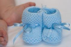 Baby Wool Boots - Baby Blue  https://www.facebook.com/flocosdela
