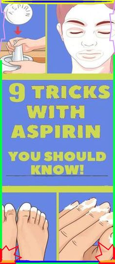9 Unusual Uses of Aspirin You Never Thought Of Before