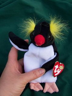 Penguin Frigid Ty Beanie Baby Stuffed Animal Toy  e8778f678bb2