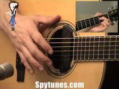 Ain't No Sunshine Finger Style Guitar Lesson - YouTube