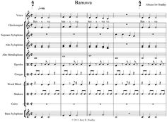 Could perform as 2 part acapella canon (m 1 and 3), then bring in instruments as sung in unison.