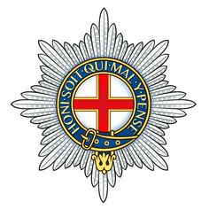 The regimental badge of the Coldstream Guards (CG) of the Guards Division, it is one of the Foot Guards regiments of the British Army. Army Tattoos, Army Hat, British Army, Special Forces, Military History, Coat Of Arms, Armed Forces, Old Things, Army Badges