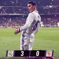 Real Madrid 3-0 Sevilla FC