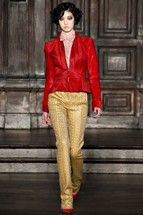 L'Wren Scott RTW Runway - MBFWNY This is by far one of our favorite fall collections from NY Fashion Week. Rich in color, sophisticated, elegant ... every piece is something like perfection.