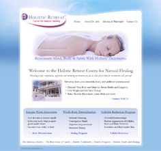 Holistic Practitioner SEO Website Design at http://www.HolisticRetreatInc.com