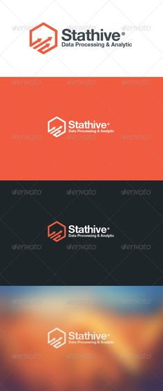 Stat Hive Data Analytic Logo #GraphicRiver An Excellent logo for Data Analytic company that process larga amount of data. The logo using abstract bee hive that represent best nature structure from bee that bring concept : strong, relationship & connection. More Exclusive Logo Collections Created: 16October13 GraphicsFilesIncluded: VectorEPS #AIIllustrator Layered: Yes MinimumAdobeCSVersion: CS Resolution: Resizable Tags: analytic #arrow #bee #bond #branding #business #connections #data…