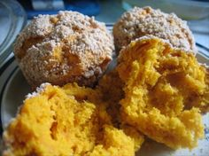 """Pumpkin Muffins - EASY Weight Watchers recipe (2 """"old"""" WW pts each)                      1 (15 ounce) can pumpkin    1 (18 ounce) box  cake mix (yellow, white, spice)    Directions: 1 Mix both together until smooth. 2 Spoon into muffin tin (either lightly sprayed or with muffin cups).  3  Bake as directed on cake box. 4  Makes 24 muffins. Calories 95.8"""