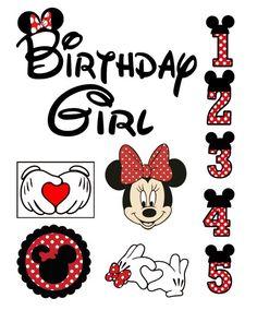 Birthday svg Minnie Mouse svg Disney svg files for Cricut Silhouette Vector File svg png eps dxf Minnie Mouse Cricut Ideas, Minnie Mouse Font, Minnie Mouse Drawing, Minnie Mouse 1st Birthday, Disney Birthday, Minnie Mouse Party, Minnie Mouse Images, Minnie Maus Silhouette, Cursive Alphabet