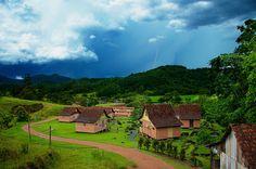 Pomerode em Santa Catarina. Cidade tranquila e charmosa, é reconhecida pela forte tradição alemã,  belezas naturais e ótima qualidade de vida.