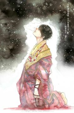 Fantasy Art Men, Fantasy Books, Anime Kimono, Thing 1, Chinese Boy, Fujoshi, Modern Man, Watercolor And Ink, Anime Guys