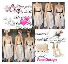 """VanelDesign/Vanya Eston"" by alma-ja ❤ liked on Polyvore featuring Giuseppe Zanotti and Charlotte Russe"