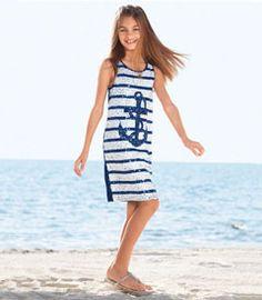 Sequin Anchor Dress