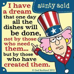 Aunty Acid Comic Strip   @GoComics from Universal Uclick from Universal Uclick.com