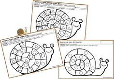 Elevage d'escargots Activities For Kids, Crafts For Kids, Snail Craft, Petite Section, School Items, Classroom Inspiration, Worms, Coloring Pages, Spring
