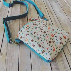 Check out this item in my Etsy shop https://www.etsy.com/listing/504234945/small-crossbody-pursewoodland-animals