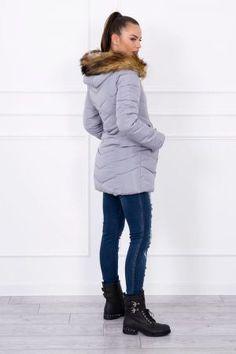 DivaShop.ro - Magazin online haine femei • rochii • pantofi • genti dama Fashion Addict, Outfit Of The Day, Diva, Street Wear, Winter Jackets, Sporty, Street Style, Boutique, Stylish
