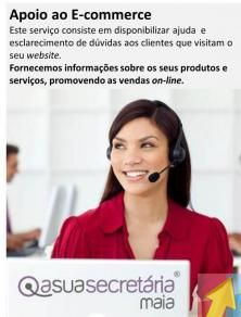 Apoio ao E-commerce - asuasecretária-Maia