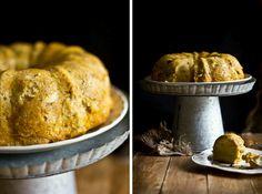 Pumkin Bourbon Bread Pudding