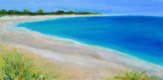 Artwork at Maine Cottage   Sanibel Shores II by Katherine Carney