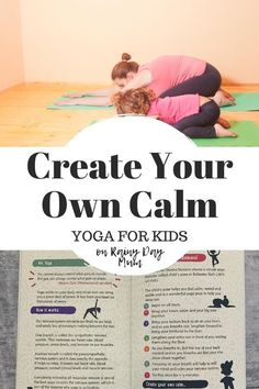 A review of the fantastic Create your Own Calm Book by Becky Goddard-Hill featuring an activity to do to reduce anxiety and stress in kids.