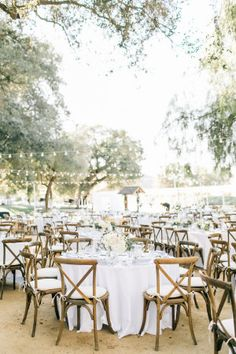 This weddingplanned by Cortney Helainewins the award for best reception ever. For starters? The couple rode in on a horse. Oh, and they also arranged for a jumping show during the reception. I mean, I'm not judge, but that's ribbon