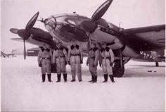 A Heinkel He-111 and her crew