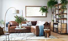 Rustic Reclaimed Living Room   west elm