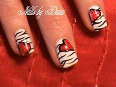heart nail designs | Free Design Valentine's Heart Nails :: Nail Art Design From ...
