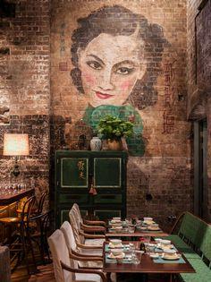 El decadente glamour colonial del Shanghái de los años 30 en el restaurante Mr.Wong