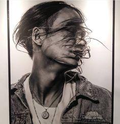 Keith Ape, Ash, Artwork, Photography, Gray, Work Of Art, Photograph, Auguste Rodin Artwork, Fotografie