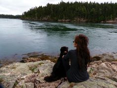 Seal watching in Maine...