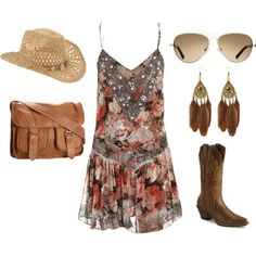 Late Summer, early Fall country outfit.