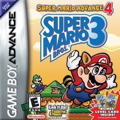 http://videogamesideas.info/super-mario-advance-4-super-mario-bros-3/ - Players can add cool new features with the Card e-Reader or link up with friends for multiplayer adventures with the...