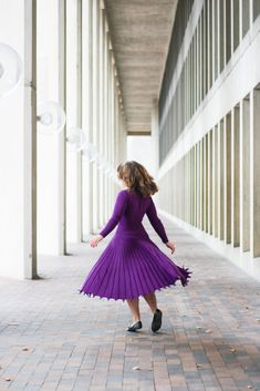 In Her Purple Prime - Trends and Tolstoy Cute Dress Outfits, Cute Dresses, Nerd Fashion, Perfect Body, Hue, The Past, Trends, Purple, Celine