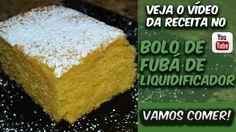 BOLO DE FUBÁ DE LIQUIDIFICADOR! RECEITA EXTREMAMENTE FÁCIL!!! VALE A PENA VOCÊ FAZER PARA UM FINAL DE TARDE!!!   Corre lá pra ver a receita e o preparo ==> http://bit.ly/Eduardo_Sachs  Se inscrevam no meu canal do YouTube e compartilhem a receita!!!