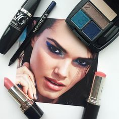 Create this look with bold blue eyes paired with neutral lips and a faux Summer glow. #AvonMakeup