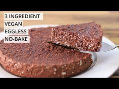 3-Ingredient Chocolate Oatmeal Cake Recipe - YouTube Gluten Free Chocolate Cake, Chocolate Sponge Cake, Chocolate Fudge Cake, Flourless Chocolate Cakes, Chocolate Oatmeal, Healthy Chocolate, Chocolate Recipes, Easy Cake Recipes, Dessert Recipes