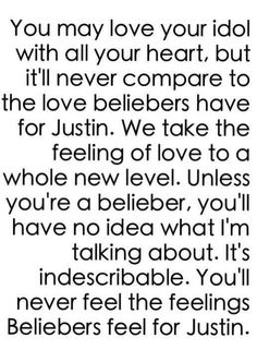 It's the truth it is so indescribable he is just everything to me to us he is all that matters to us!! I love u Jay with all my heart and nothing in this world or anywhere else could ever change that