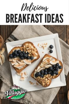Start the day off right with delicious breakfast ideas from Villaggio!