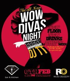 Wow Divas Night, F Bar & Kitchen, Bangalore