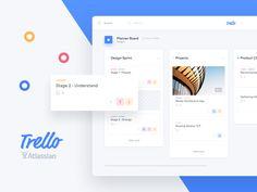 다음 @Behance 프로젝트 확인: \u201cTrello Atlassian - Redesign\u201d https://www.behance.net/gallery/47031411/Trello-Atlassian-Redesign