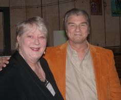 Charles Pogue, screenwriter of The Fly, with Abigail.