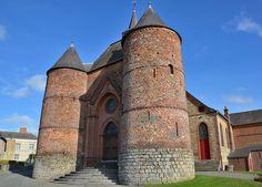 Eglise Saint-Martin (église fortifiée.Wimy (Aisne - Thiérache) - PIcardie