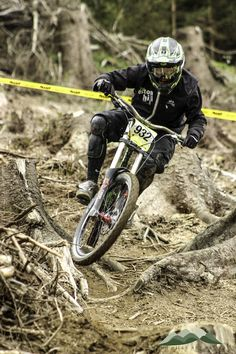 Pearce-Series DH Racing, 2014 Bala, Rider: Al Warrell.
