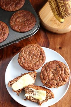 "The Best ""TOPLESS"" Banana Nut Muffins Recipe Ever! {Sugar Free, Grain Free, Gluten Free}"