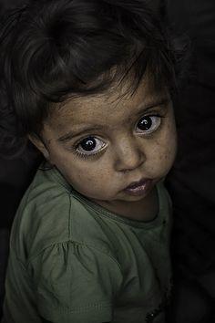 Gypsy little kid