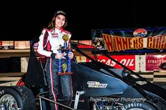 The winningest female driver in the history of the United States Auto Club has set her sights on NASCAR.  Toni Breidinger has joined Venturini Motorsports and will make three ARCA Racing Series starts this summer. The 18-year-old Californian has 14 victories in a USAC pavement sprint car and has raced since she was 9 years old. She finished second overall in the USAC Speed 2 Western U.S. Pavement Midget Series and claimed the championship in 2016. #ToniBreidinger #NASCAR #LikeAGirl
