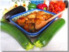 Catalan Samfaina Mediterranean Recipes, Zucchini, Good Food, Vegetables, Articles, Kitchens, Vegetable Recipes, Healthy Food, Veggies