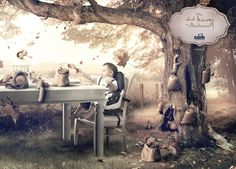 La criatura creativa | Blog de creatividad publicitaria, diseño y mucho más…quién roba las hojas en otoño?